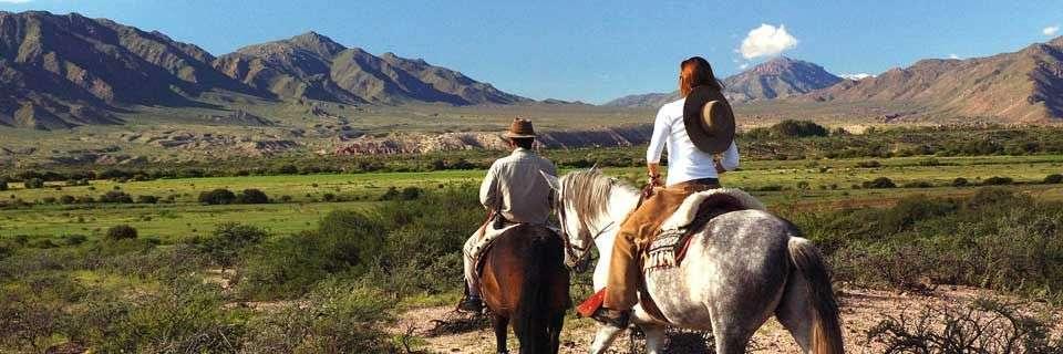 Horseback riding in Argentina