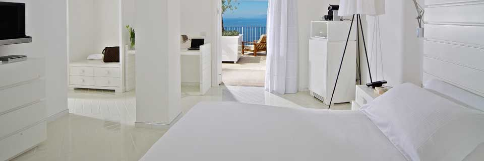 Romantic Sea View Room at Casa Angelina