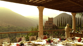 5 nights for 4 at Kasbah Tamadot, with all meals included: from £1,450 pp