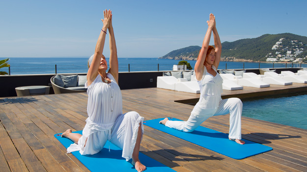 Yoga at Aguas de Ibiza
