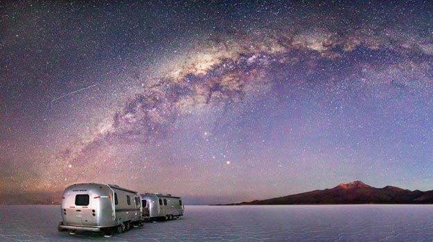 Sleep in an alternative caravan - the Vintage Airstreams, Bolivia