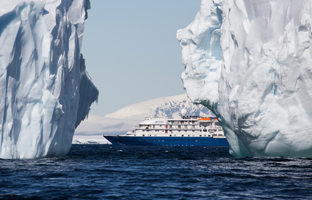 Antarctica, Sea Spirit ship