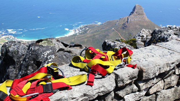 Abseiling in Cape Town, South Africa