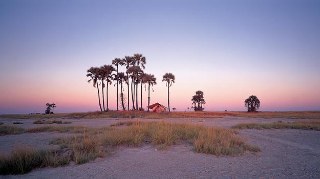 San Camp, Botswana