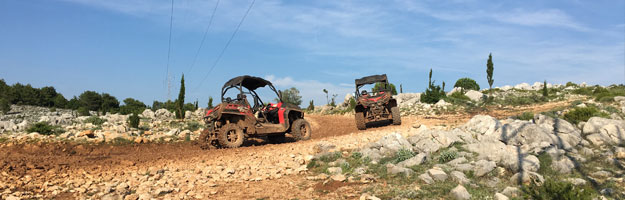 Buggy-safari, Dubrovnik
