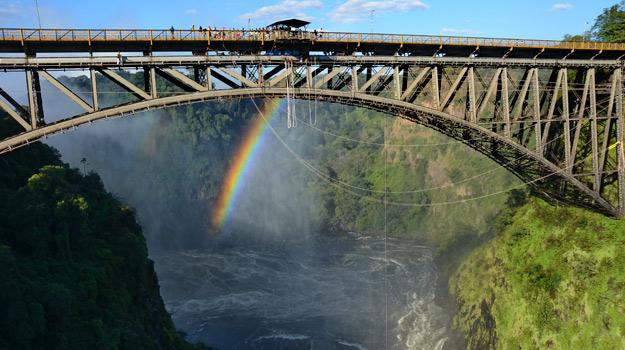 Bungee Jump Victoria Falls Bridge