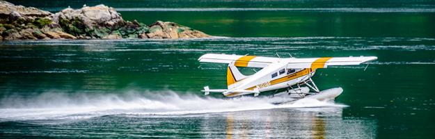 West Coast Wilderness Resort, seaplane