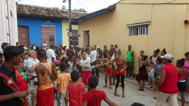 Dancing in Trinidad, Cuba