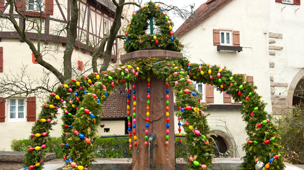 Germany, Easter tree