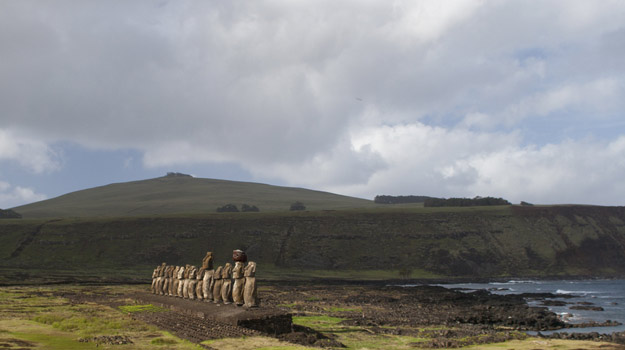 Moai on Easter Island | Chile