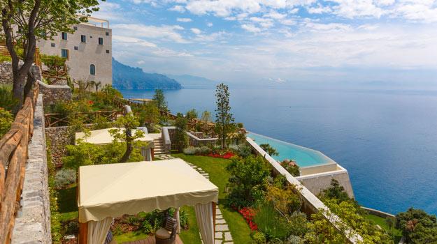 Monastero Santa Rosa hotel, Italy