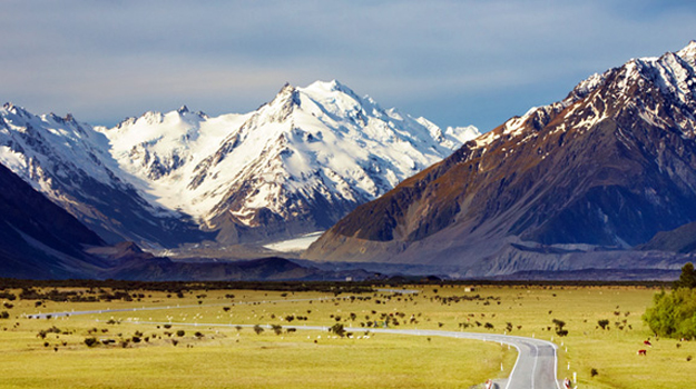 New Zealand, Southern alps