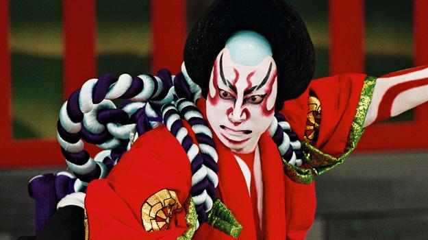 Kabuki theatre performer, Japan