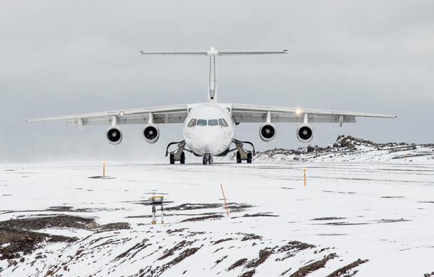 Plane, Antarctica