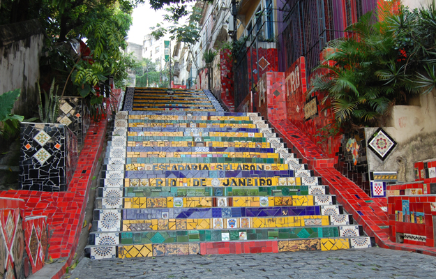 Selaron Steps, Rio de Janeiro