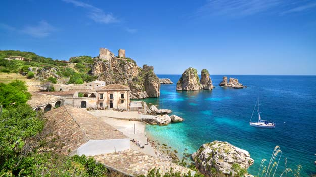 The rugged coast of Sicily | The Exsus Blog