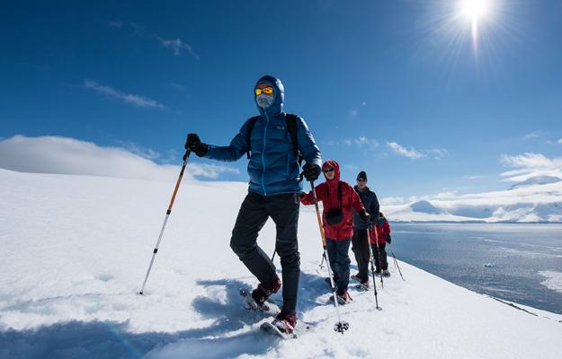 Skiing in Antarctica, by Nicolas Gildemeister