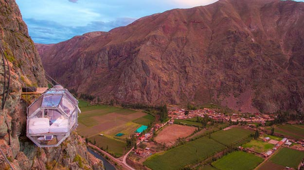 A head for heights: Skylodge in the Sacred Valley