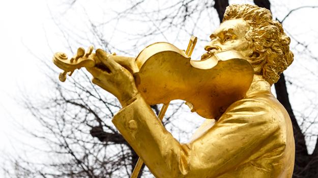 Strauss statue, Vienna