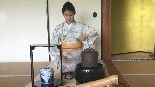 Tea making ceremony, Japan
