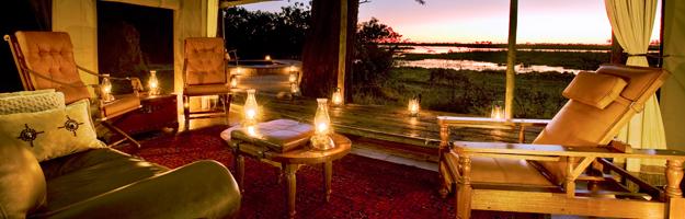 Zarafa Camp, Botswana, Africa